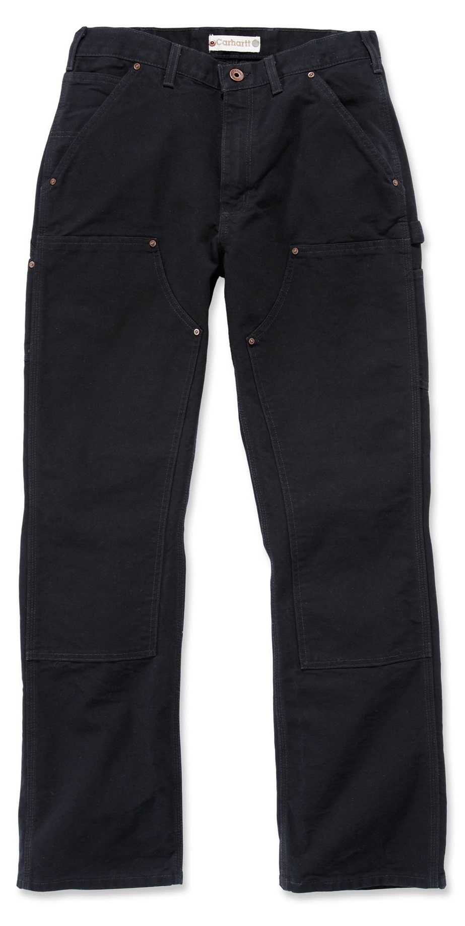 CARHARTT-schwarz-Hose-EB136-doppelte-Front-Knie-Double-Front-Pant-wie-B01-NEU