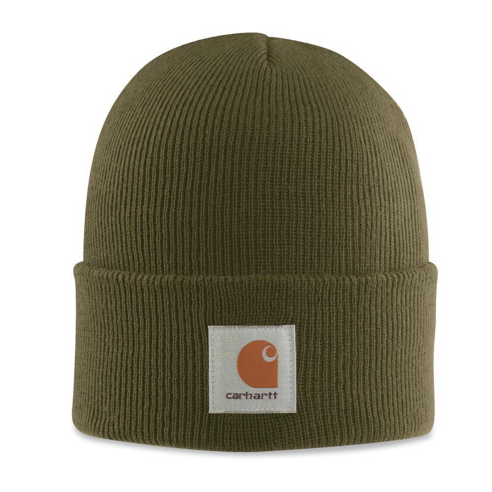 CARHARTT-A18-Watch-Hat-Muetze-Pudel-Beanie-NEU-super-bequem-und-warm-Strickmuetze