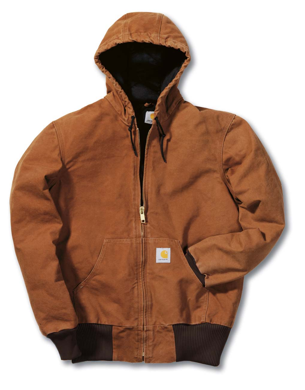 CARHARTT-braun-EJ130-Sandstone-Active-Jacket-Jacke-NEU