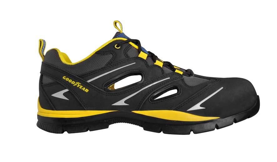 Goodyear sicherheitsschuh g3000 metallfrei s1p arbeitsschuhe sportlich bequem ebay - Amazon chaussure de securite ...