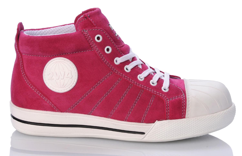 2w4 sneaker fun s1 sportlich neu sicherheitsschuhe rose pink aktion neu 2work4 ebay. Black Bedroom Furniture Sets. Home Design Ideas