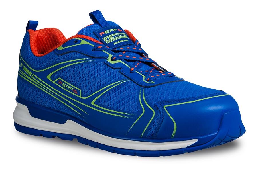 perf sport sicherheitsschuhe gravity one blau sneaker sehr leicht s1p ebay. Black Bedroom Furniture Sets. Home Design Ideas